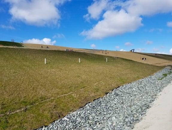 erosion control project